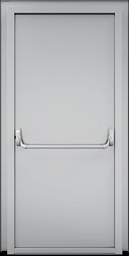 drzwi stalowe jednosrzkydlowe-techniczne